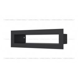 kratka wentylacyjna tunel 60x200 mm - kolor czarny