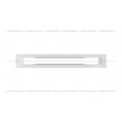kratka wentylacyjna tunel 60x400 mm - kolor biały