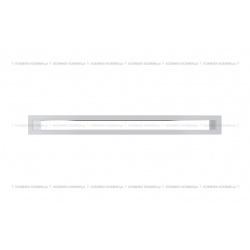 kratka wentylacyjna tunel 60x600 mm - kolor biały