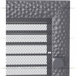 kratka22/30 venus grafitowa z żaluzją