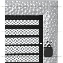kratka 22/45 venus niklowana z żaluzją