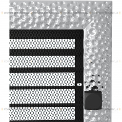 kratka 17/37 venus niklowana z żaluzją