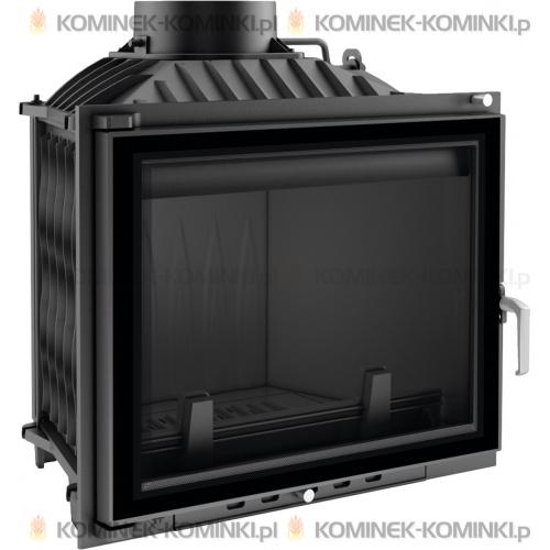 Wkład kominkowy KRATKI ERYK 12 kW GLASS - kominek KRATKI