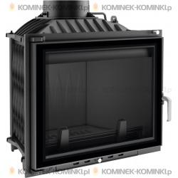 Wkład kominkowy KRATKI ERYK 12 kW GLASS + dolot - kominek KRATKI