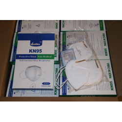 Maska ochronna KN95 maseczka filtrująca FFP3 półmaska antysmogowa P2