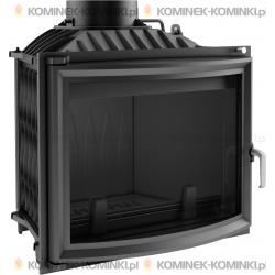 Wkład kominkowy KRATKI ERYK 12 kW panoramiczny - kominek KRATKI