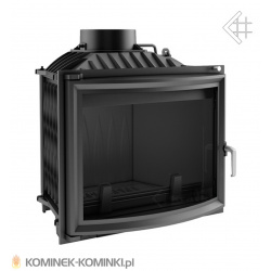 Wkład kominkowy KRATKI ERYK 12 kW pryzmatyczny + dolot - kominek KRATKI