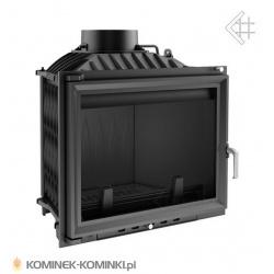 Wkład kominkowy KRATKI ERYK 700 12 kW + dolot - kominek KRATKI