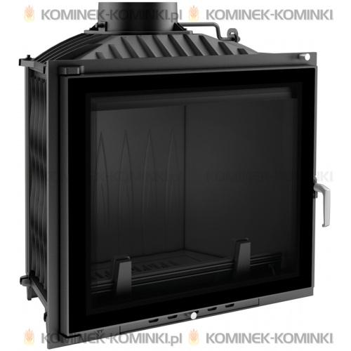 Wkład kominkowy KRATKI FELIX 16 kW GLASS + dolot - kominek KRATKI