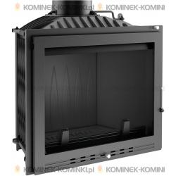 Wkład kominkowy KRATKI FELIX 16 kW LUX + dolot - kominek KRATKI