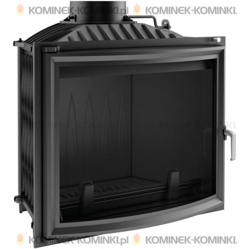 Wkład kominkowy KRATKI FELIX 16 kW panoramiczny - kominek KRATKI