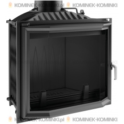 Wkład kominkowy KRATKI FELIX 16 kW pryzmatyczny - kominek KRATKI
