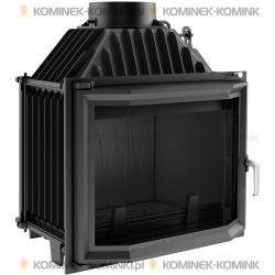 Wkład kominkowy KRATKI MAJA 12 kW pryzmatyczny + dolot - kominek KRATKI