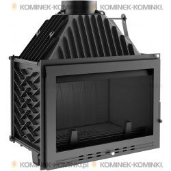 Wkład kominkowy KRATKI OLIWIA 18 kW LUX + dolot - kominek KRATKI