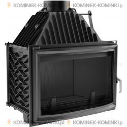 Wkład kominkowy KRATKI OLIWIA 18 kW pryzmatyczny + dolot - kominek KRATKI