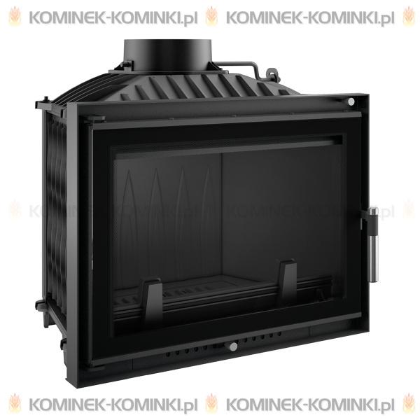 Wkład kominkowy KRATKI WIKTOR 14 kW DECO + dolot - kominek KRATKI