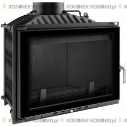 Wkład kominkowy KRATKI WIKTOR 14 kW GLASS + dolot - kominek KRATKI