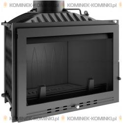 Wkład kominkowy KRATKI WIKTOR 14 kW LUX + dolot - kominek KRATKI