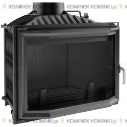 Wkład kominkowy KRATKI WIKTOR 14 kW pryzmatyczny + dolot - kominek KRATKI