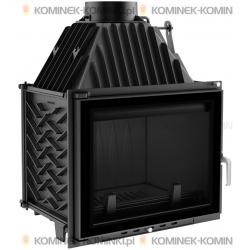 SYSTEM GLASS - Wkład kominkowy KRATKI ZUZIA 16 kW - kominek KRATKI