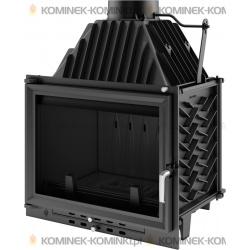 Wkład kominkowy KRATKI ZUZIA 16 kW EKO + dolot - kominek KRATKI