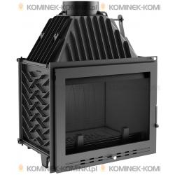 Wkład kominkowy KRATKI ZUZIA 16 kW LUX - kominek KRATKI