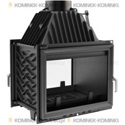 Wkład kominkowy KRATKI ZUZIA 16 kW tunel + dolot - kominek KRATKI