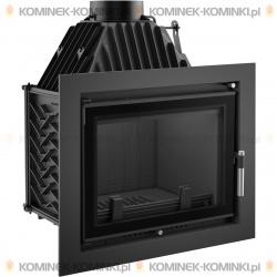 Wkład kominkowy KRATKI ZUZIA 16 kW DECO - kominek KRATKI