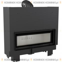 Wkład kominkowy KRATKI MB 100 gilotyna 14 kW - kominek KRATKI