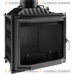 Wkład kominkowy KRATKI ANTEK 10 kW pryzmatyczny - kominek KRATKI