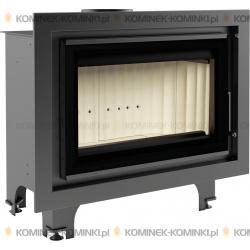 Wkład kominkowy KRATKI BASIA 15 kW GLASS - kominek KRATKI