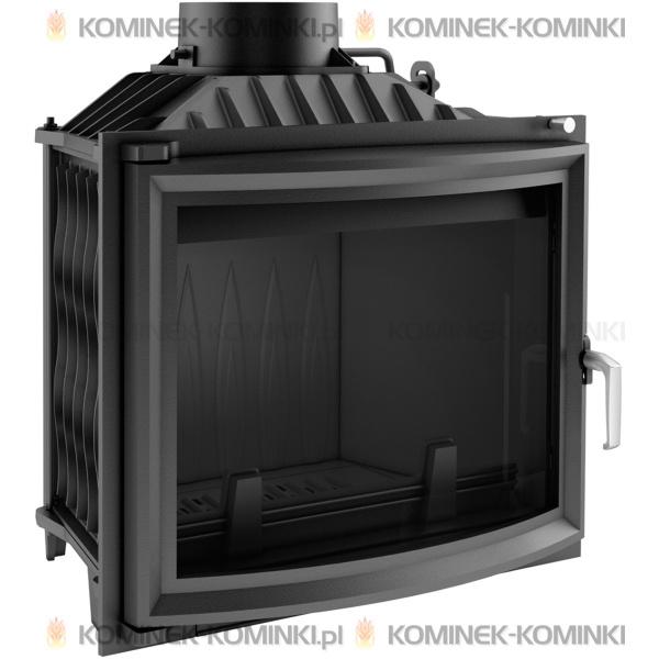 Wkład kominkowy KRATKI ANTEK 10 kW panoramiczny - kominek KRATKI