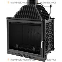 Wkład kominkowy KRATKI AMELIA 18 kW EKO + dolot - kominek KRATKI